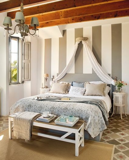 Ideas para dormitorios principales peque os dormitorios bedrooms bedroom decor linen - Ideas dormitorios pequenos ...