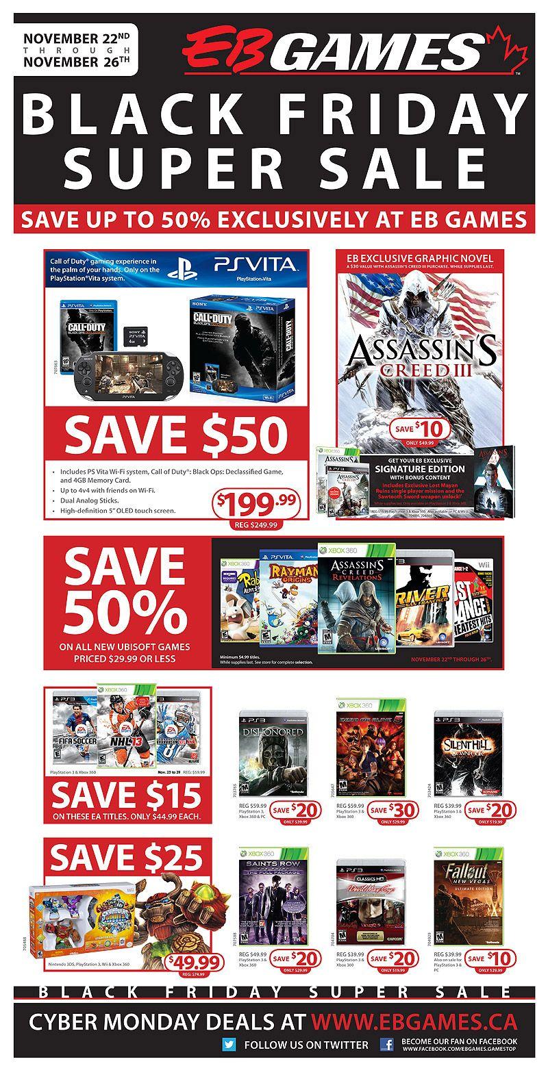 Eb Games Black Friday Super Sale Ends Nov 26 Black Friday Games Black Friday Super Sale