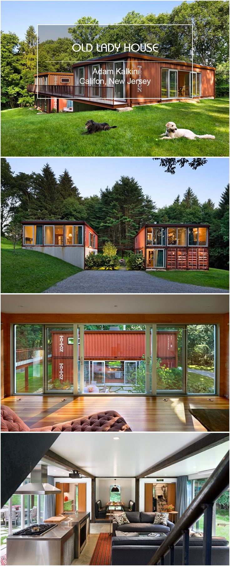 Best Kitchen Gallery: Container Old Lady House Adam Kalkin Califon New Jersey of Kalkin Shipping Container Homes  on rachelxblog.com