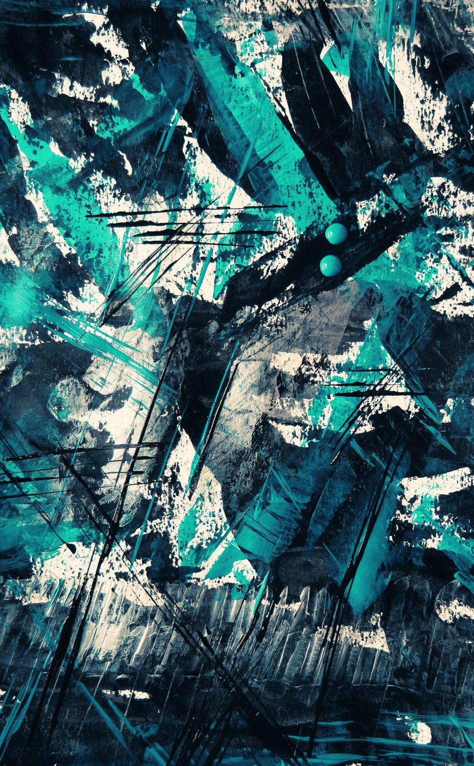 950x1534 Marks Canvas Blue Dark Art Wallpaper Abstract Art Wallpaper Graffiti Wallpaper Iphone Graffiti Wallpaper