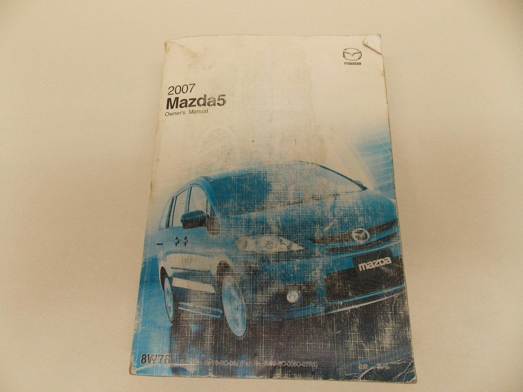 07 2007 Mazda 5 Owners Manual Book Guide # 7894 -- Awesome products  selected by