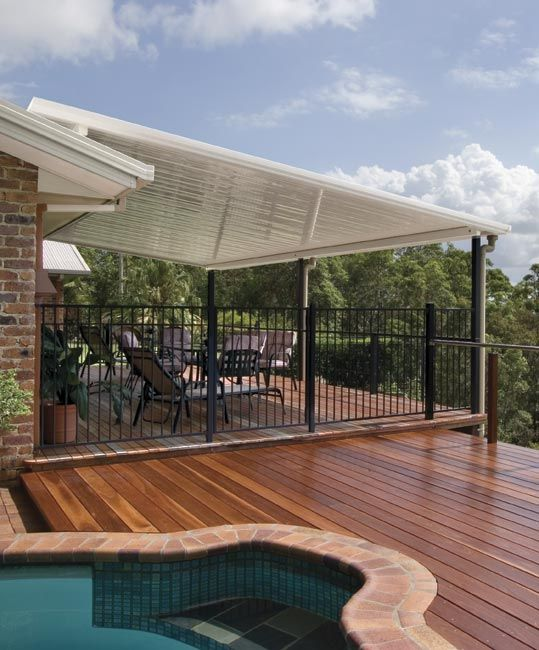 Slop Roof Pergola Patio Roof Pergola Skillion Roof