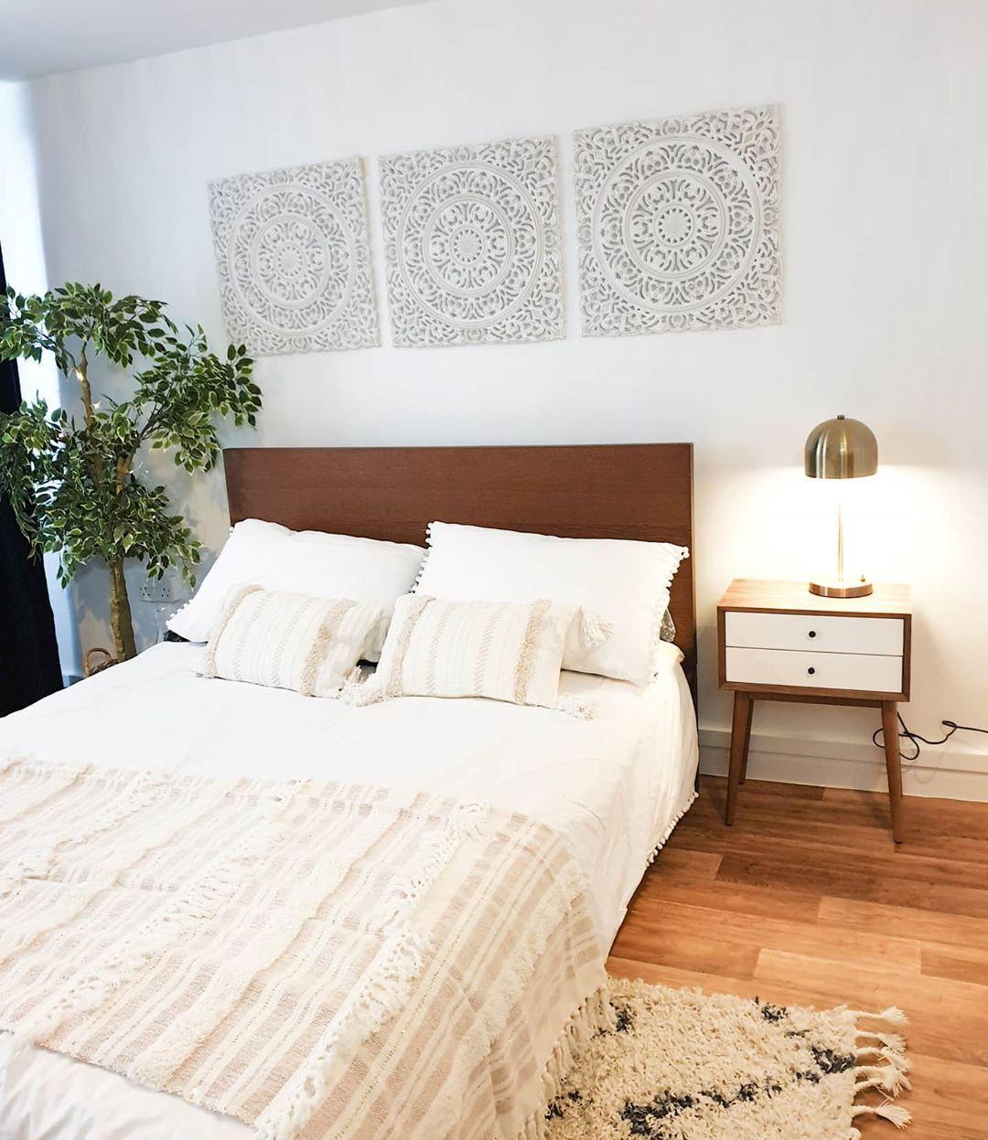 2020 的 55 Absolutely breathtaking farmhouse style bedroom
