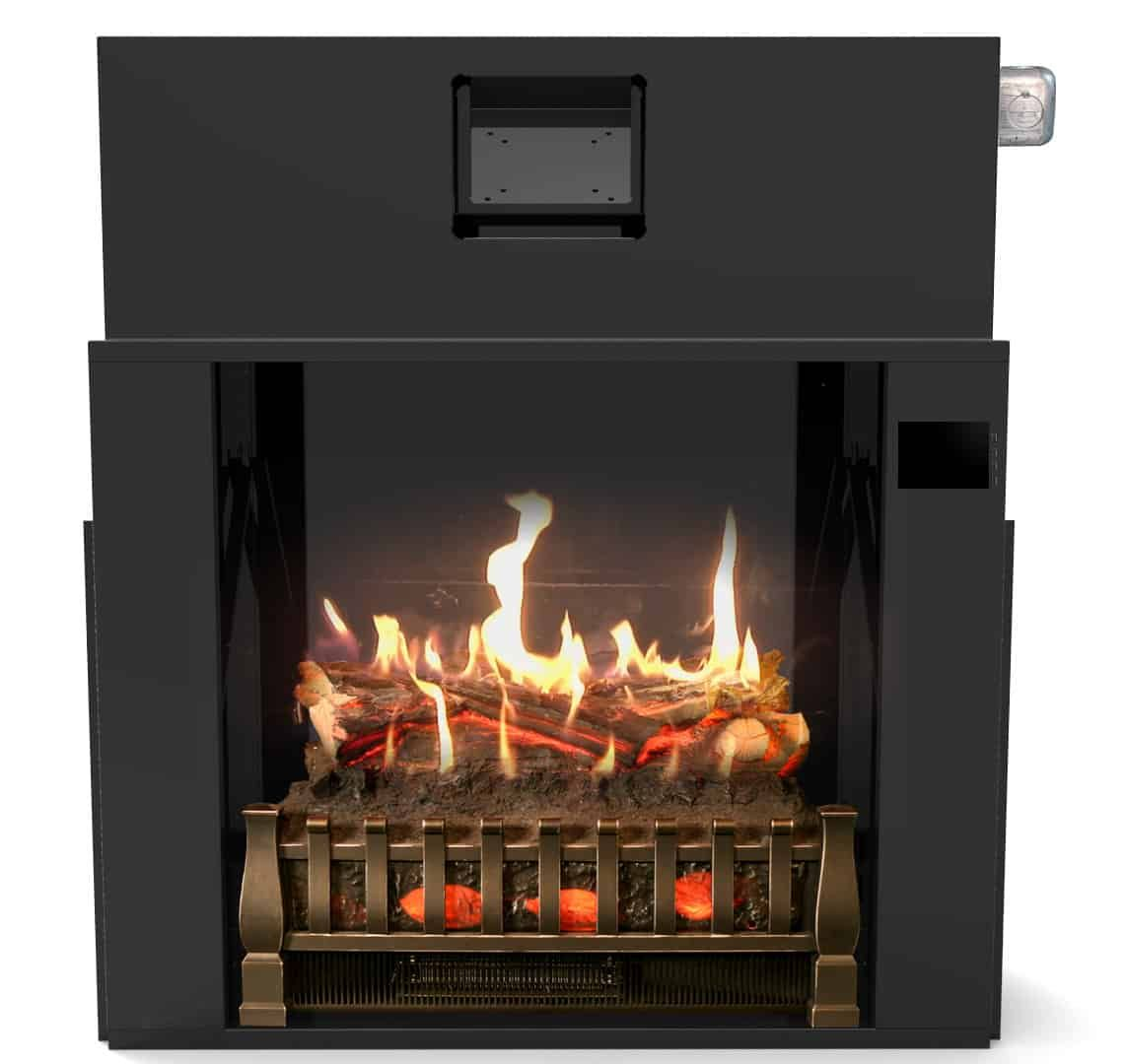 28 Inch Electric Fireplace Insert With Sound Fireplace Inserts Realistic Electric Fireplace Electric Fireplace Insert