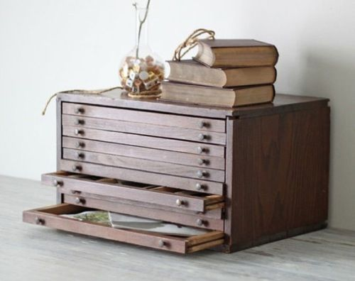 Blast from the Past: 10 Flat-File Cabinets | Accessories ...