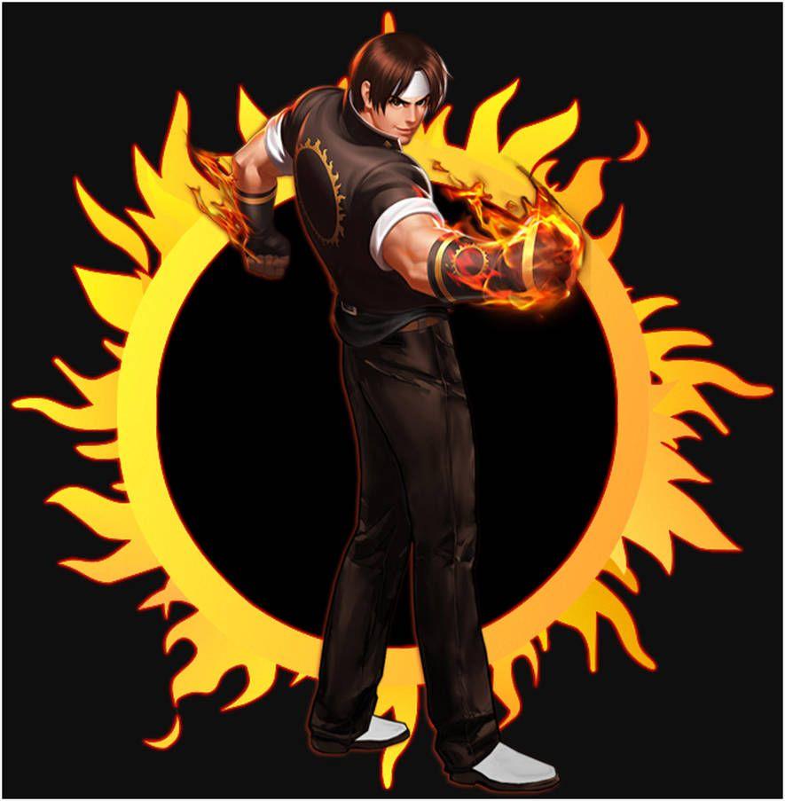 Kyo Kusanagi Sun By Emmakof Kusanagi Kof Dibujos Snk King Of Fighters