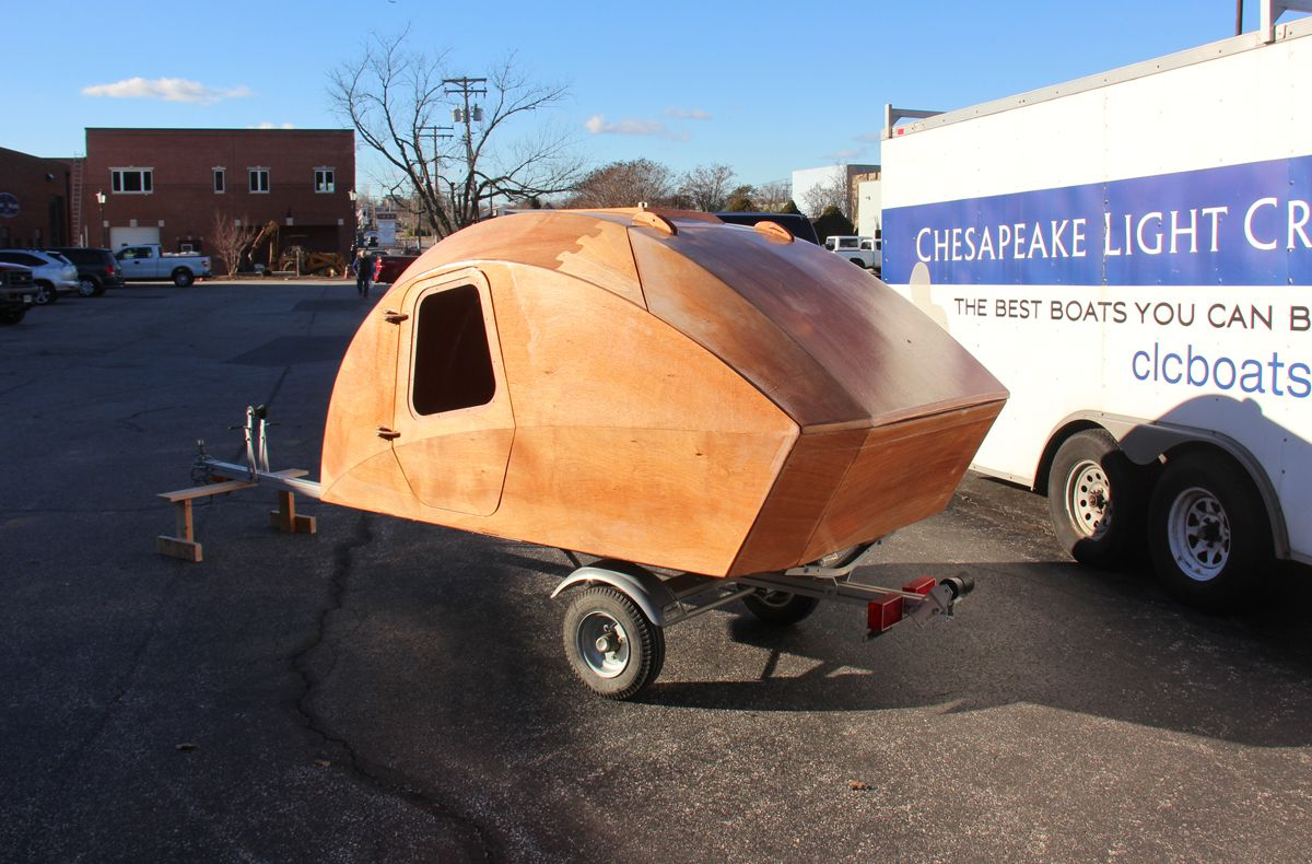 This is really cool. Beautiful build-your-own Teardrop Trailer Kit ...