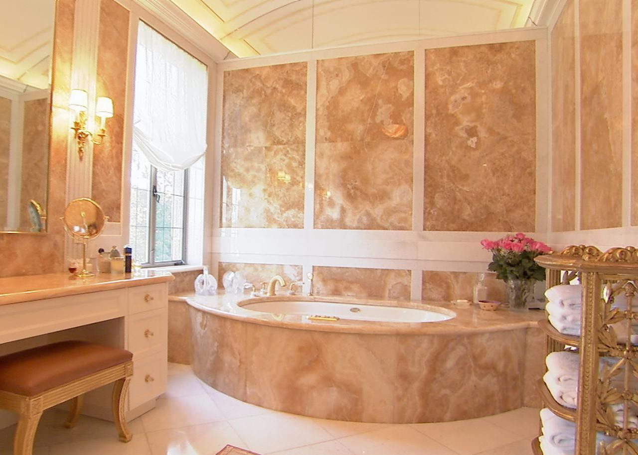 The marble is in charge right turn your bathroom on an amazing
