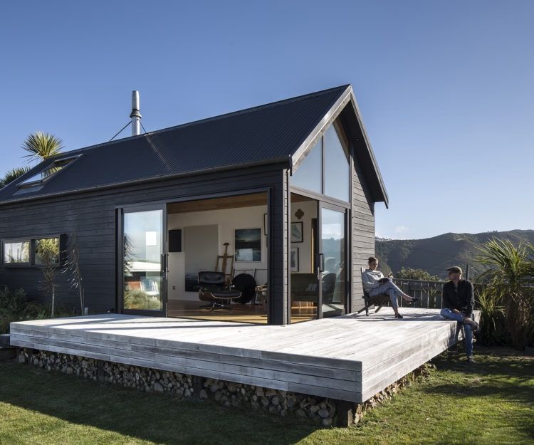 the 45m2 thurston studio wellington new zealand prefab