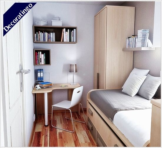 10x10 Bedroom Design Ideas Decoratingo Small Bedroom Interior Small Dorm Room Small Space Bedroom
