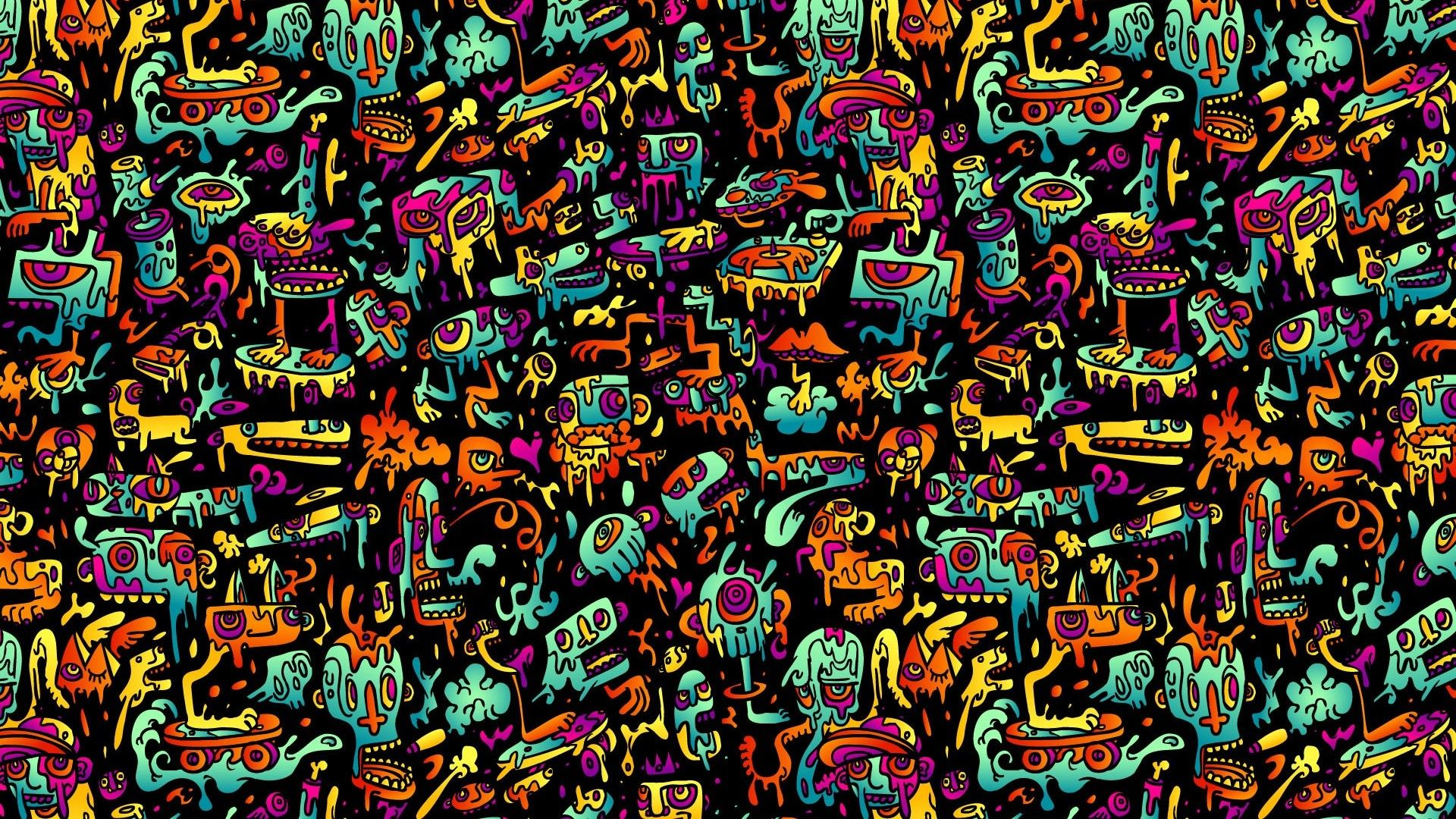 Psychedelic Wallpaper | Best HD Wallpapers | Wallpaperscute in 2019 | Abstract pictures ...