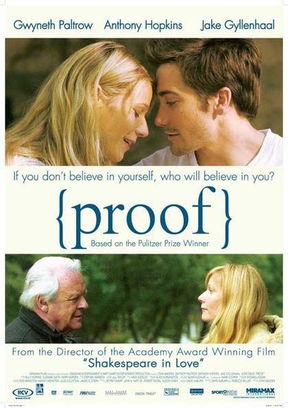 Proof - La prova è un film del 2005 diretto da John Madden e ispirato all'omonima opera teatrale di David Auburn