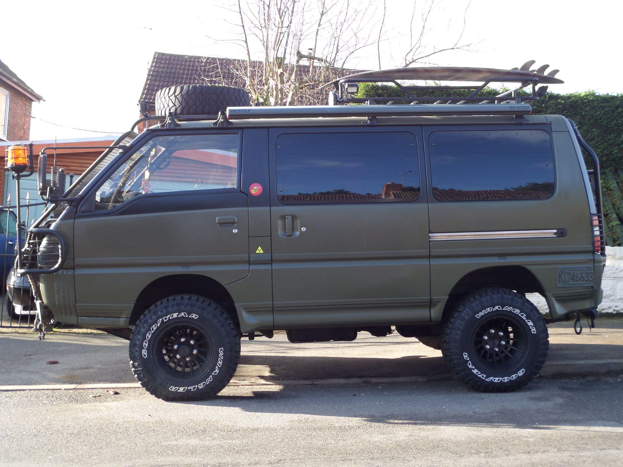 Delica Side on Delica van, Toyota van, 4x4 van