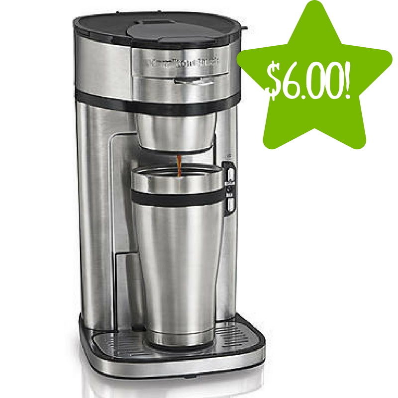 Kmart The Scoop SingleServe Coffeemaker Only 6.00 (Reg
