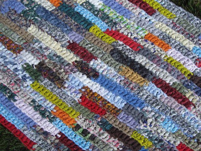 Crochet Rag Rug Rectangle Crochet Rectangle Rag Rug Pattern Home Design Ideas Rag Rug Rug Pattern Types Of Rugs