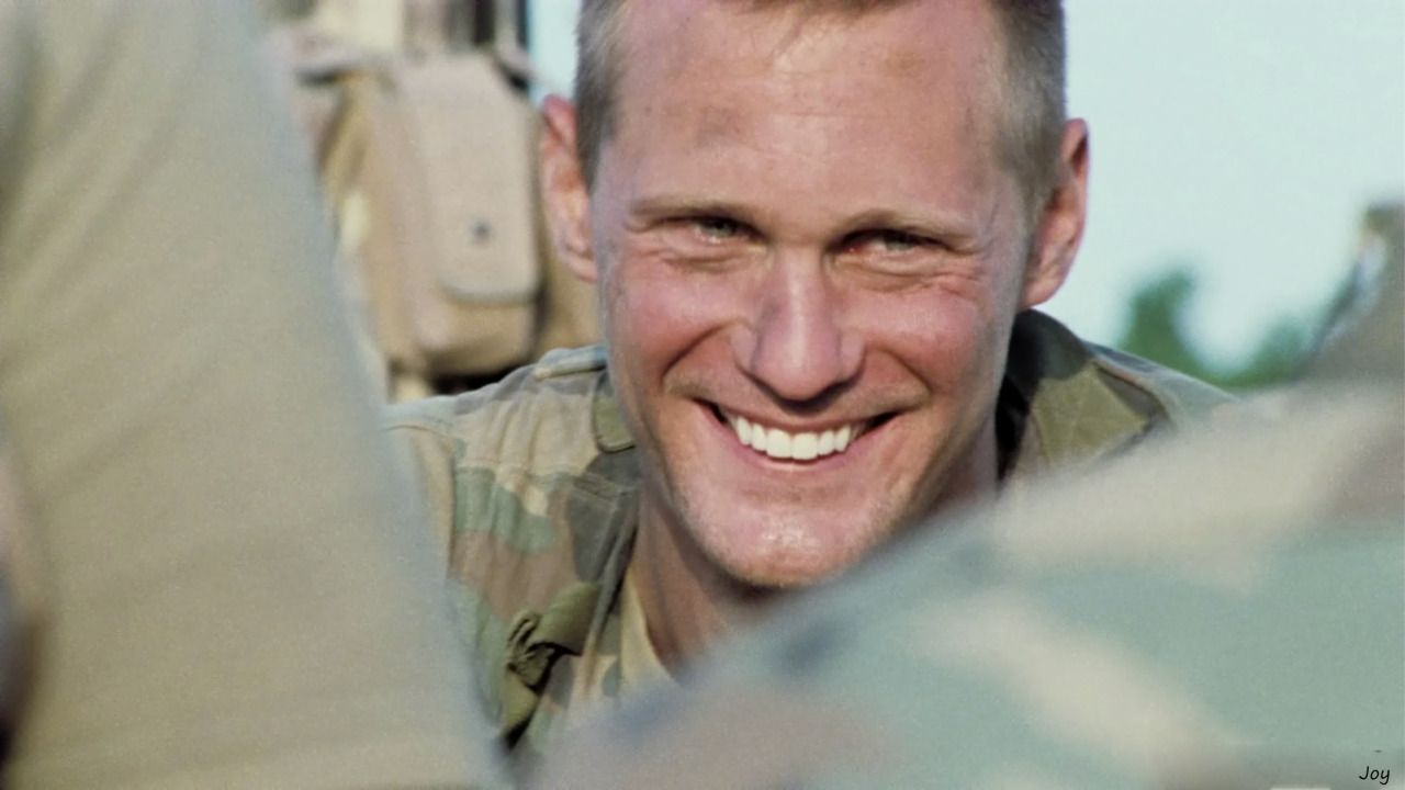 "skarsjoy: "" Alexander Skarsgård as Sgt. Brad Colbert in GENERATION KILL  (Part 6 - Stay Frosty) #57 of GK Tuesday sources: HBO's Generation Kill  Blu-ray, ..."