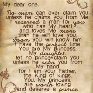 a love letter from god to his daughters
