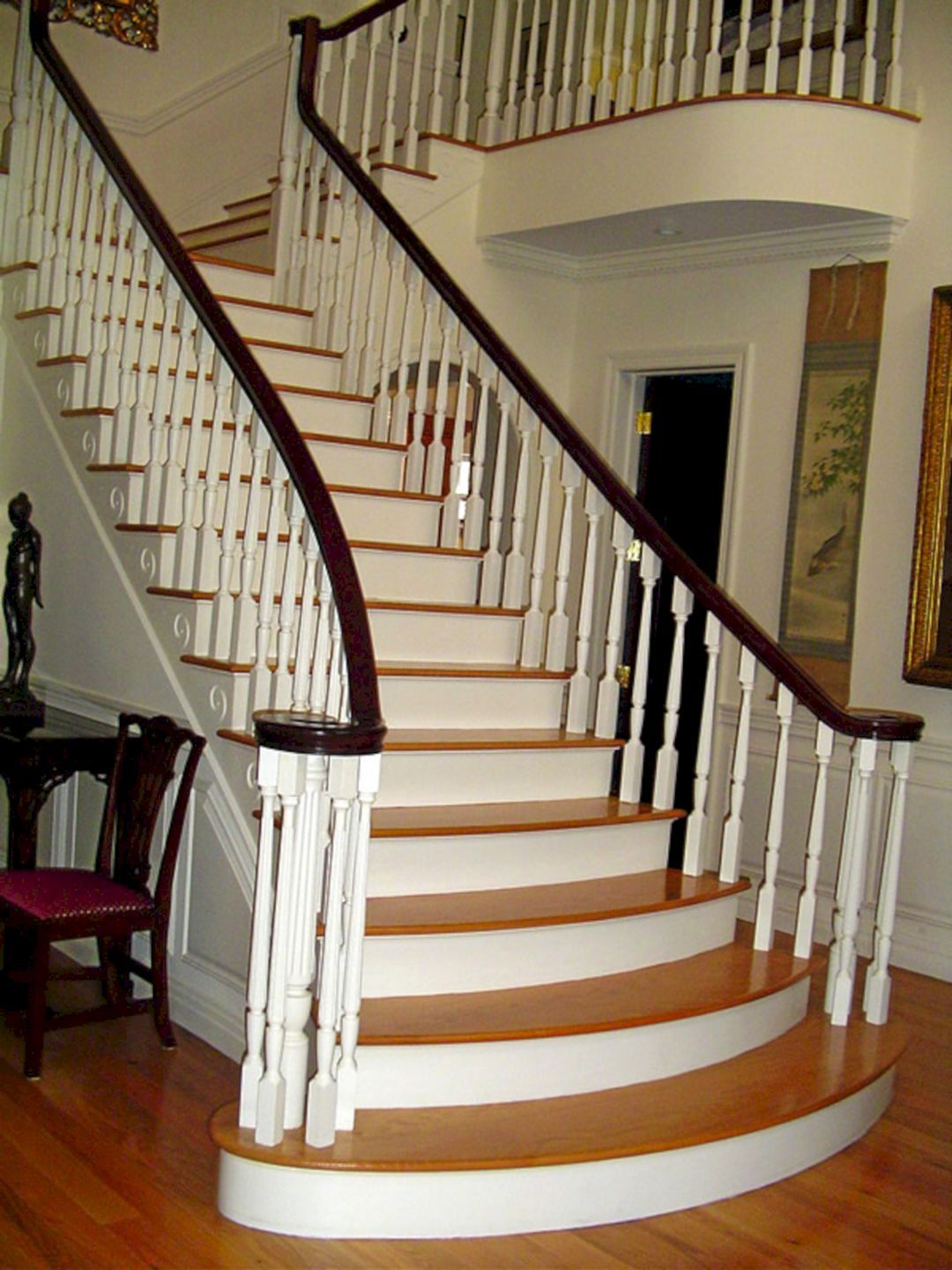 45 beautiful stairway decorating ideas for attractive your home rh pinterest com