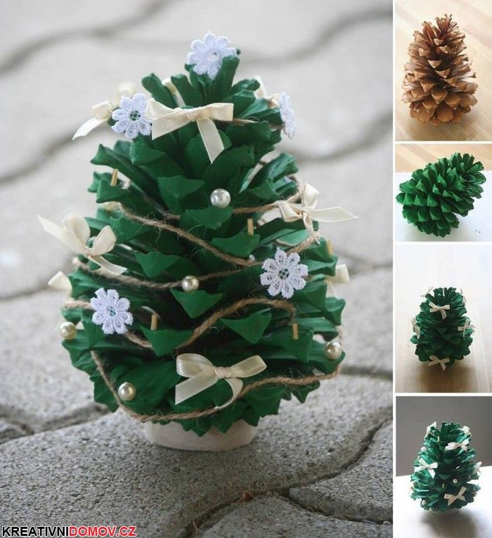 Mini stromeek ze iky Pine Cone