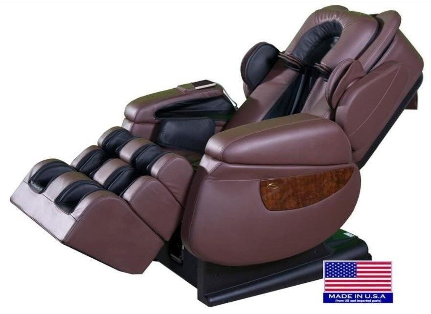 luraco i7 medical massage chair with heat foot rollers chocolate rh pinterest com