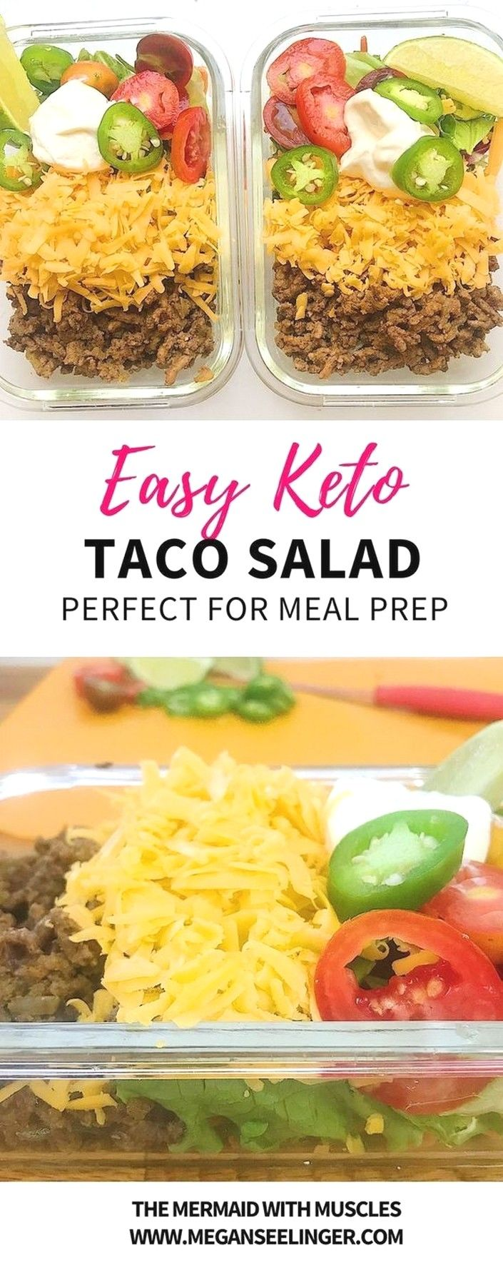 Keto Taco Salad Easy Keto Ground Beef Recipe | Keto Recipes
