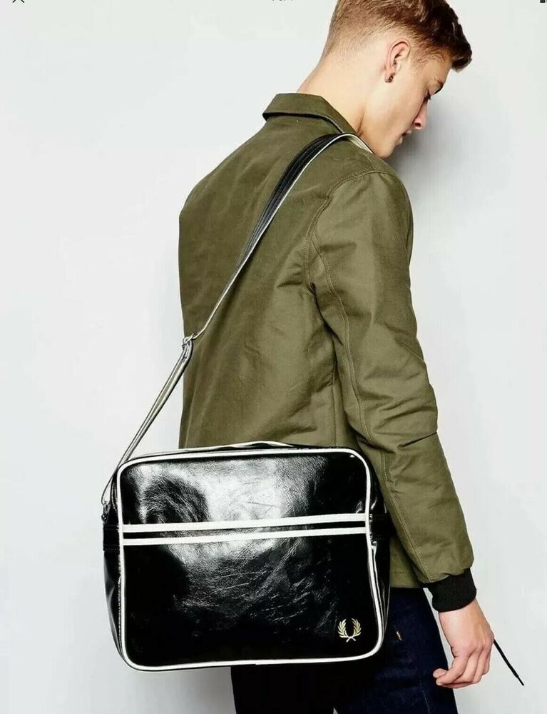 Fred Perry Mens Classic Shoulder Bag