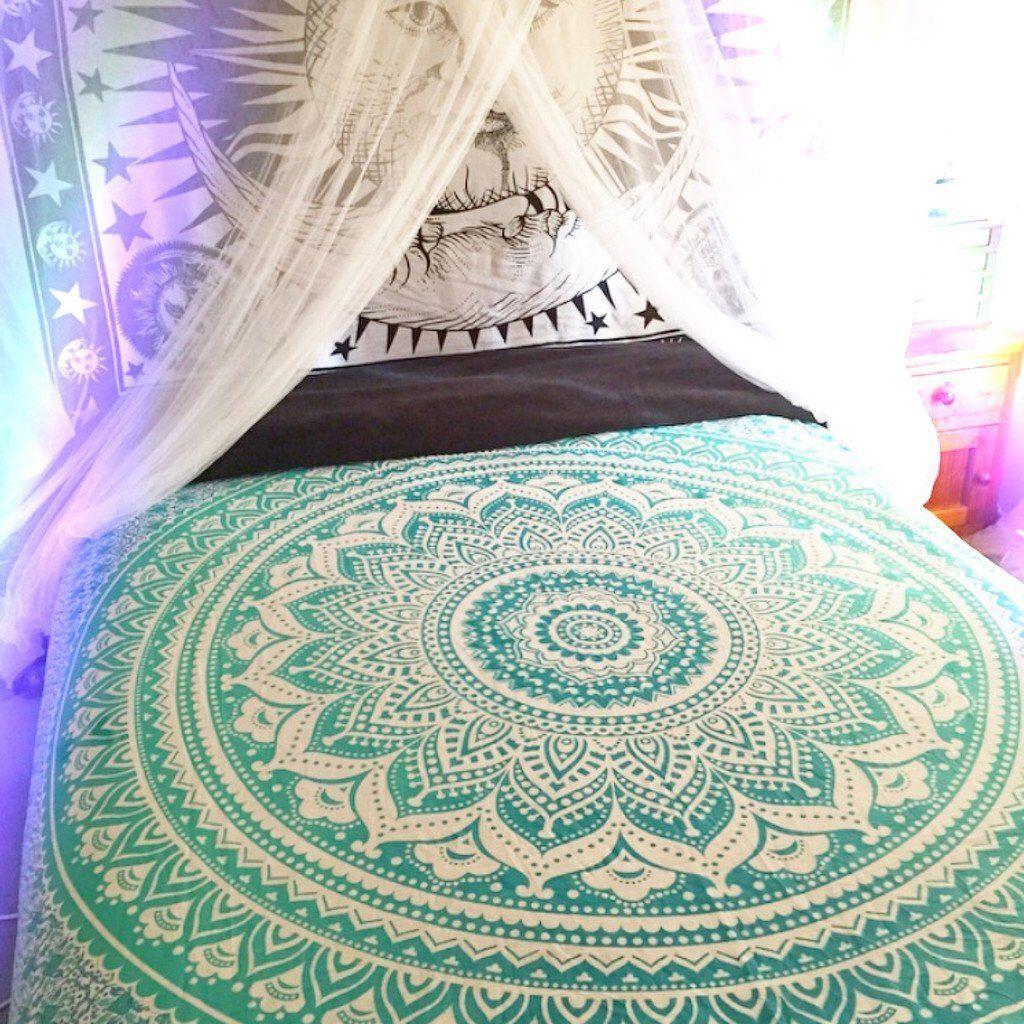 Mandala Throw Bohemian Hippie Beach Picnic Rugs Wall Decor By Jaipurmandala On Etsy