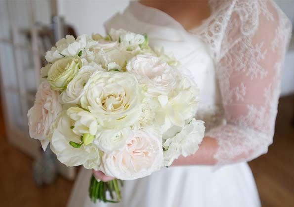 Ivory Vintage Bouquet Boutique Blooms Floral Design Styling Wedding Flowers Surrey