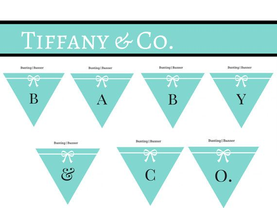 c8f83b427ddbe Tiffany inspired diapper cakes for baby showers | FREE Tiffany & Co ...