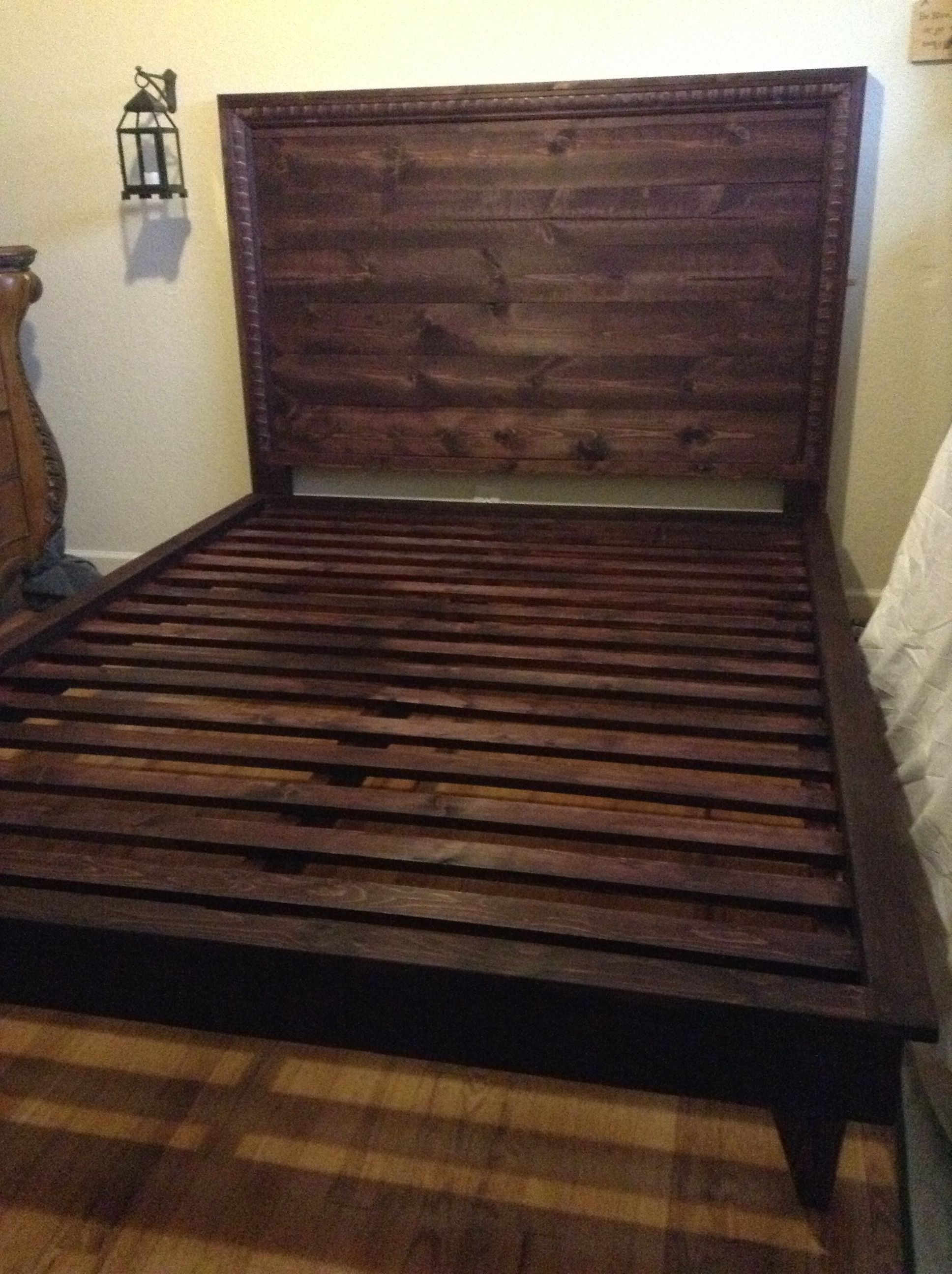 Inspirational Carpenter Made Mahogany Bed Frames With Rustic Barn ...