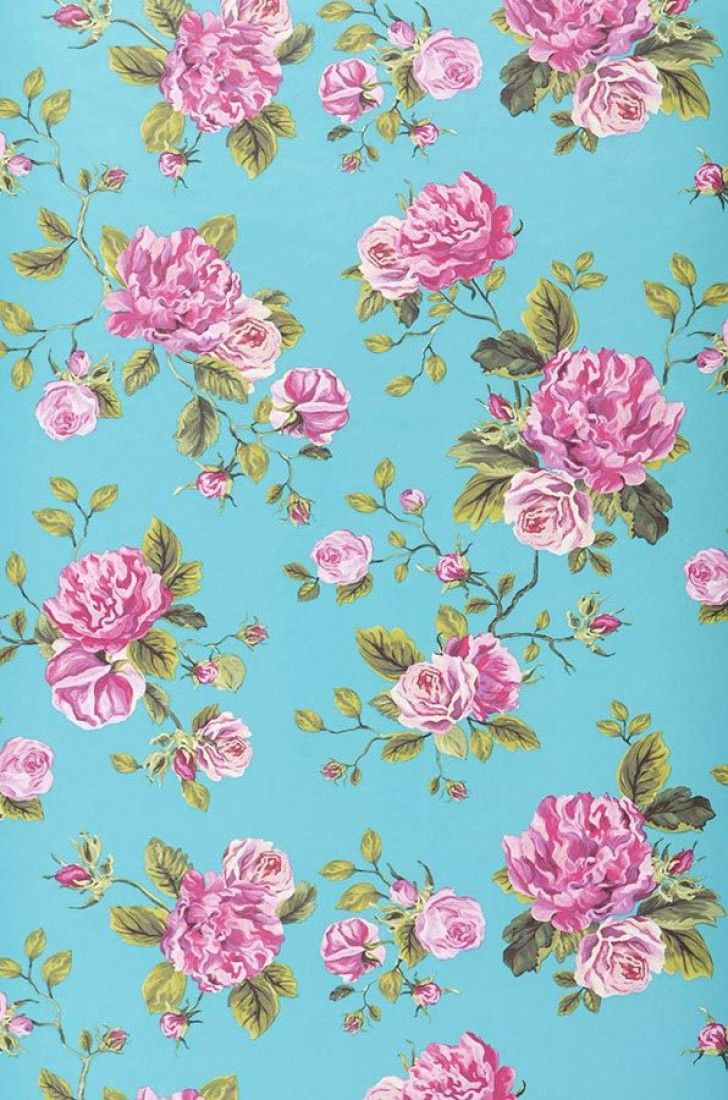 Wallpaper Isabelle In 2020 Flower Wallpaper Pattern Wallpaper