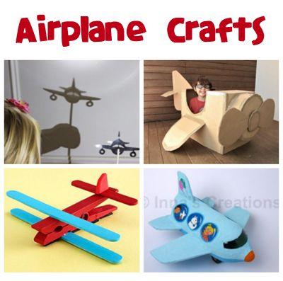 airplane crafts for kids arts n crafts diy pinterest