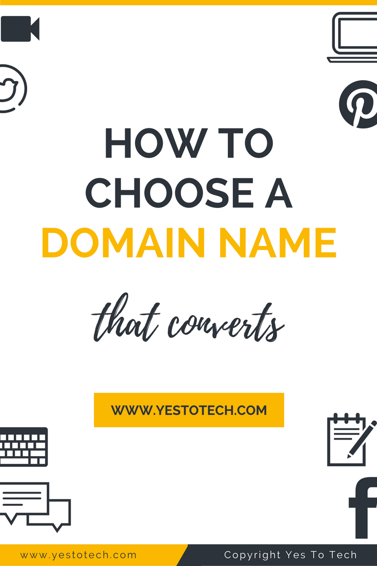 How To Choose A Domain That Converts To Name Your Website Domain Name Ideas Domain Name Generator Naming Your Business