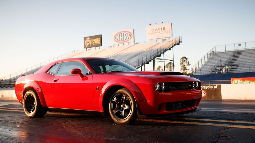 the dodge demon is hell on earth in the best way possible vehicles rh pinterest com