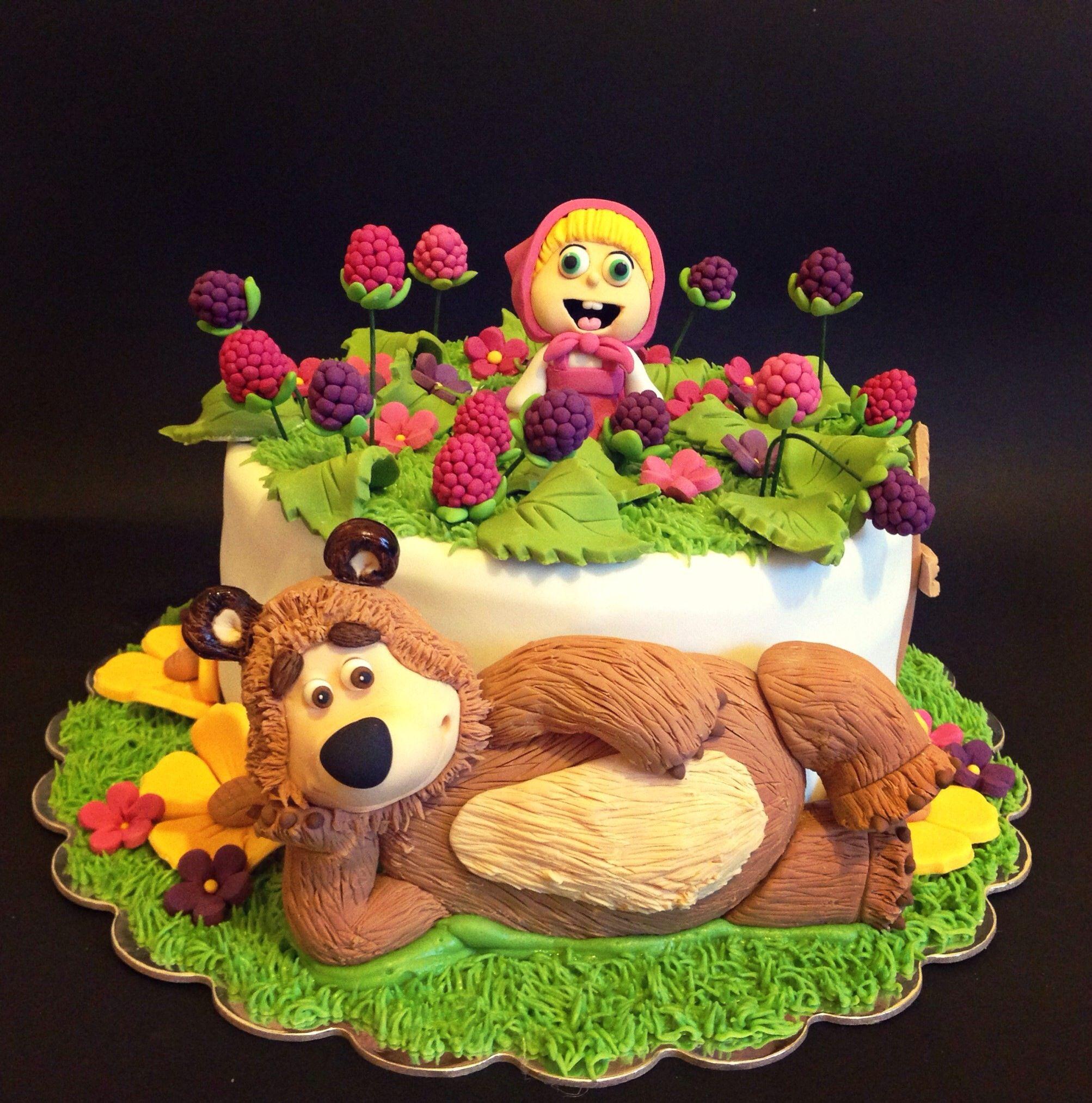 Торт маша рецепт с фото пошагово хотят