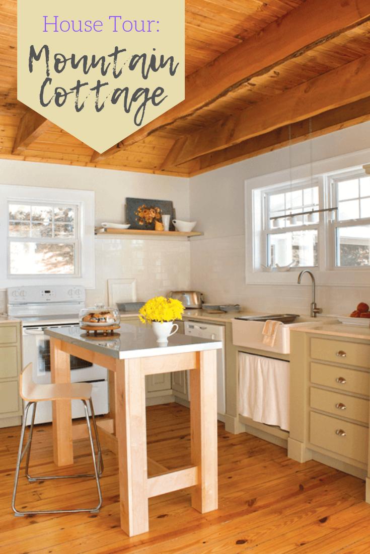 tour a fall mountain house cottage decor inspiration pinterest rh pinterest com