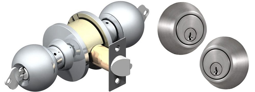 Single And Double Cylinder Door Locks Which Is Best Door Locks Schlage Locks Cylinder Lock