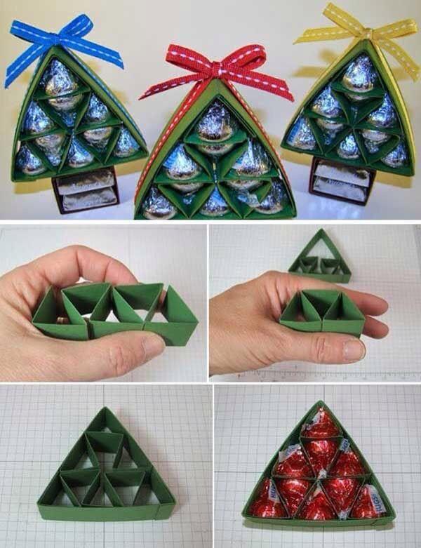 Haz Tu Propia Cajita Para Regalar Diy Christmas Gifts Cheap Cheap Christmas Diy Diy Christmas Gifts