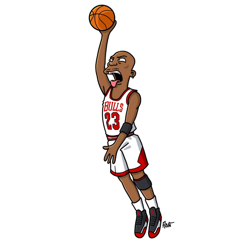 The greatest basketball player of all time… Michael Jordan / Simpsonized by  ADN Maybe a beginning for a new simpsonized series.