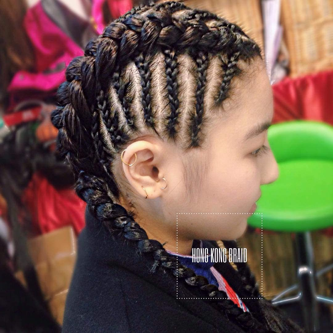 cornrow hairstyles for children youtube within children braiding