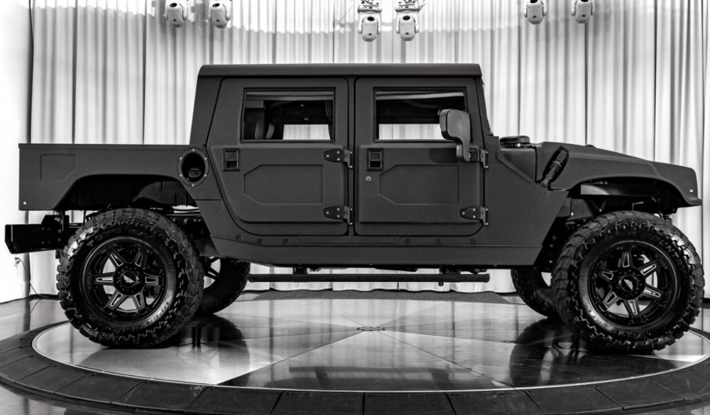 Mil Spec Hummer H1 Launch Edition 007 Is A Baja Ready Luxury Pickup