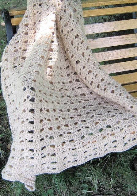 Free Pattern This Really Simple And Quick Afghan Pattern Is