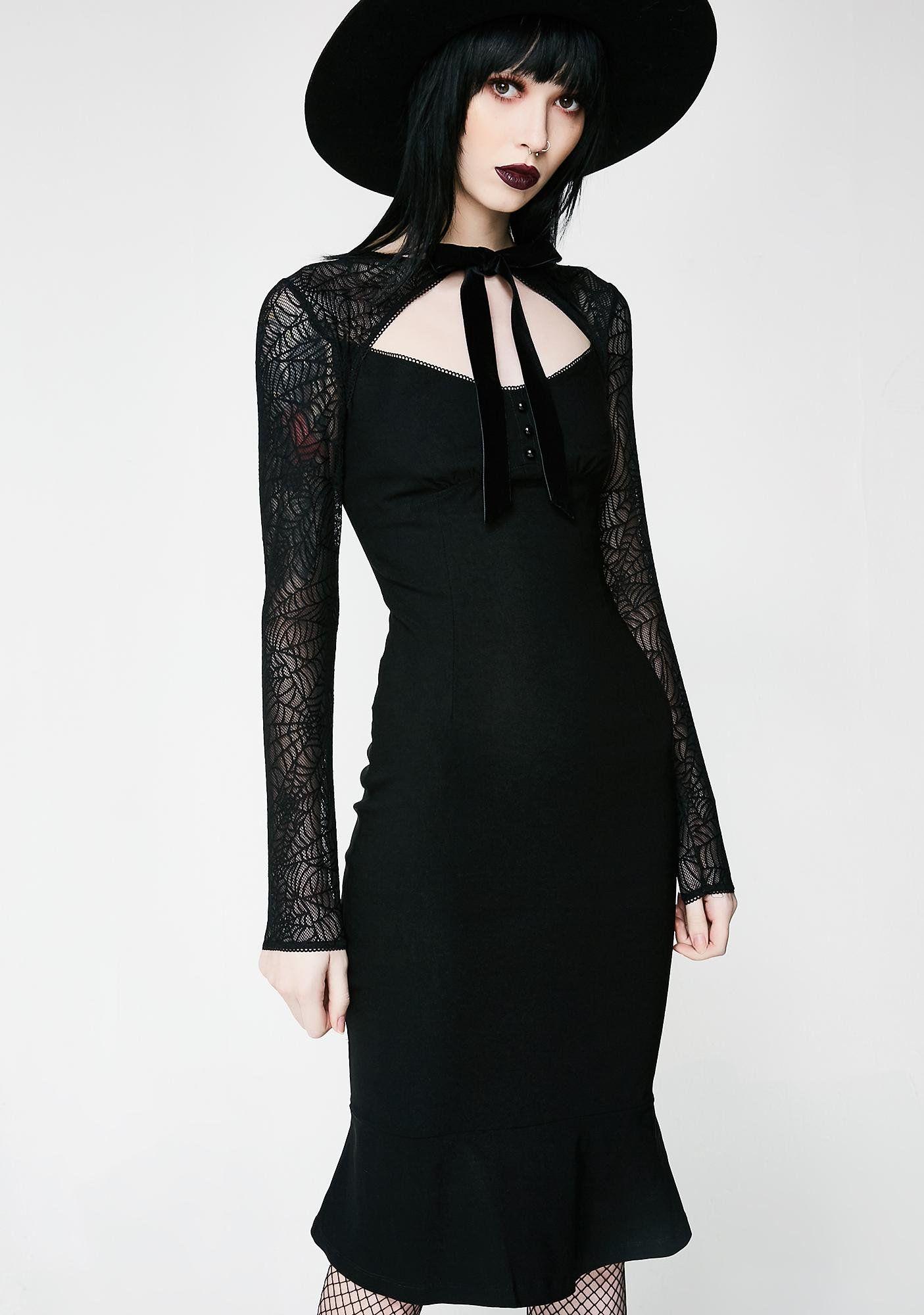 Bat To The Bone Dress