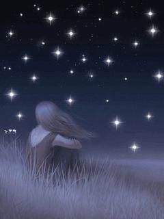 Tenho tantos pensamentos que se eles virarem estrelas vai faltar céu !