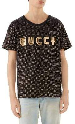 0b70556be431ae Gucci SEGA Logo Cotton Tee | Gucci