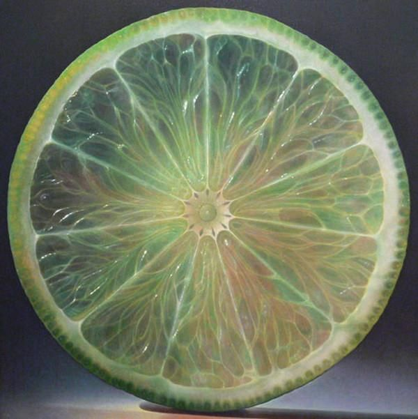 Dennis Wojtkiewicz's Fruit Paintings