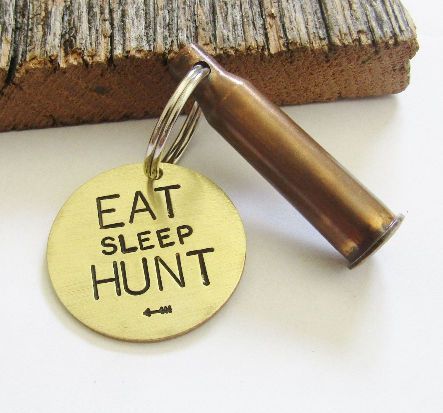 Hunting Keychain For Hunter Dad Husband Hunting Gift Christmas Eat