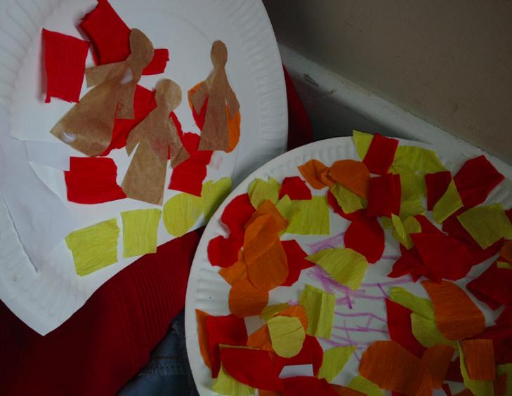 Fiery Furnace preschool | Sunday school crafts | Toddler sunday