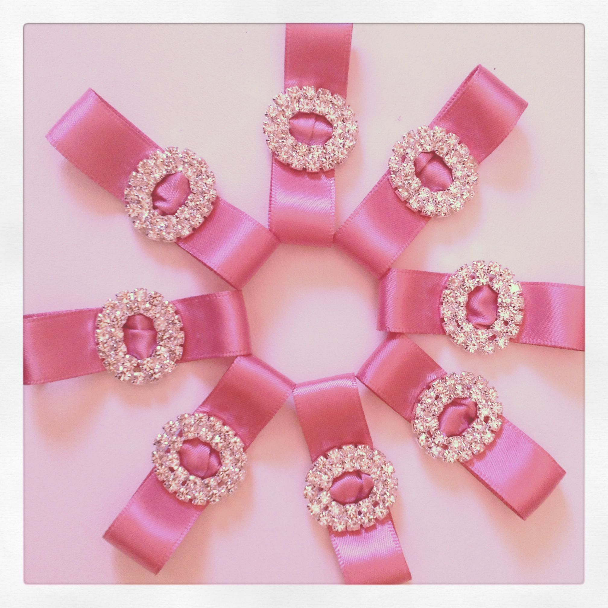 Wedding bling for stationery by micrafts