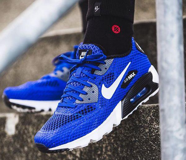 Nike Air Max 90 Ultra BR Plus QS Blue | Basket nike homme ...